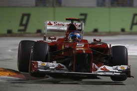 Fernando Alonso, Ferrari, Singapore 2012