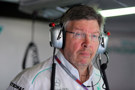 Ross Brawn Mercedes Singapore GP 2012
