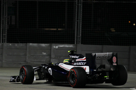 Bruno Senna Williams 2012 Singapore GP