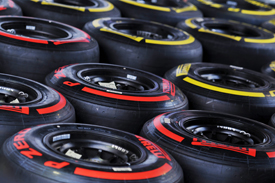 Pirelli F1 tyres singapore gp 2012