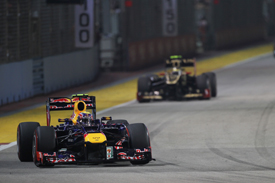 Mark Webber, Red Bull, Singapore 2012