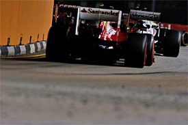 Singapore GP: Senna escaped penalty because he was using normal racing line