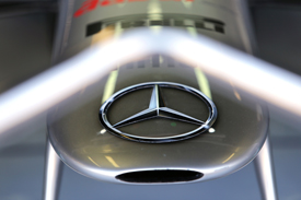 Mercedes Logo detail