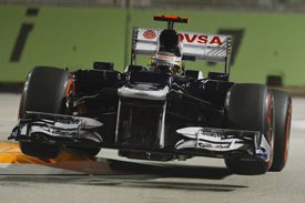 Pastor Maldonado Singapore