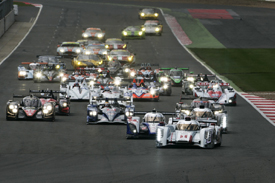 Silverstone WEC start