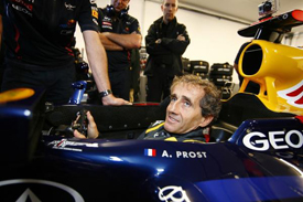 Alain Prost, Red Bull demo