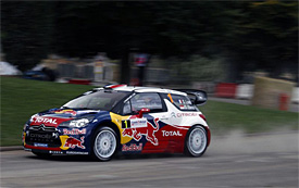Loeb leads from Latvala in France