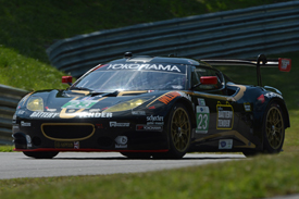 Alex Job Lotus ALMS 2012 Lime Rock