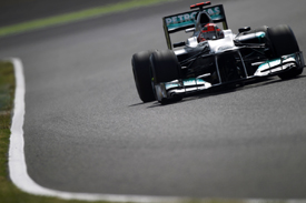 Michael Schumacher, Mercedes, Suzuka 2012