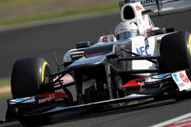 Kamui Kobayashi, Sauber, Suzuka 2012