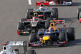 Romain Grosjean and Mark Webber, Japan, 2012