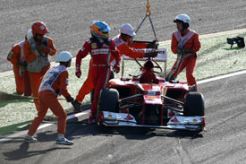 Fernando Alonso Ferrari Suzuka 2012