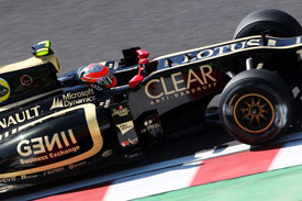 Grosjean Lotus Suzuka 2012