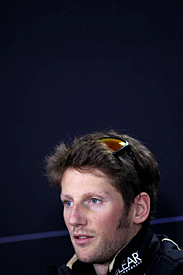 Romain Grosjean, Lotus, Korean Grand Prix, 2012