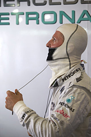 Michael Schumacher, Mercedes, 2012