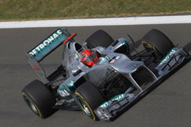Michael Schumacher, Mercedes, Korea 2012