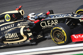 Kimi Raikkonen Lotus 2012 Korean GP