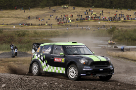 Chris Atkinson Motorsport Italia Mini WRC Britain 2012