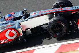 Jenson Button McLaren 2012