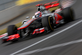 Jenson Button, McLaren, Korea 2012