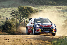 Citroens dominate opening stages