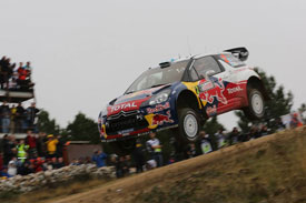 Mikko Hirvonen Rally Italia