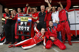 Robin Frijns wins Formula Renault 3.5 title