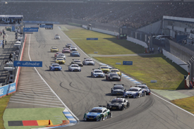 Hockenheim DTM start 2012