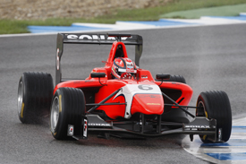 Kevin Ceccon MW Arden GP3 test Jerez 2012