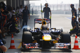 Sebastian Vettel, Red Bull, India 2012