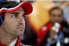 Timo Glock struggled with the balance of the Marussia