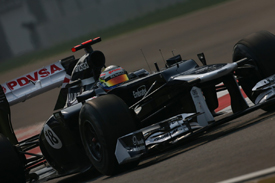 Pastor Maldonado, Williams, India 2012