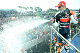 Casey Stoner wins at Phillip Island