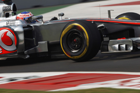 Jenson Button, McLaren, India 2012