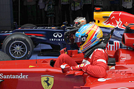 Fernando Alonso, Ferrari, India, 2012