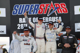 Enna Superstars race two podium