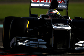 Pastor Maldonado, Williams, Abu Dhabi 2012