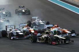 Force India Abu Dhabi