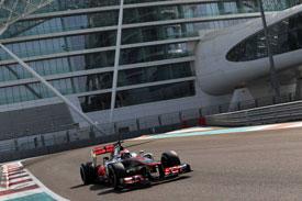 Kevin Magnussen Abu Dhabi McLaren