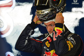 Sebastian Vettel Red Bull Abu Dhabi