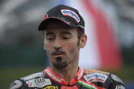 Max Biaggi Aprilia World Superbike 2012