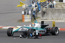 The Norisring was a low point of Jaafar's season