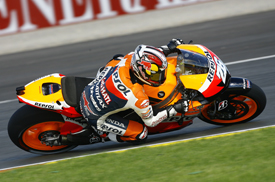 Dani Pedrosa, Honda, Valencia 2012