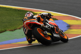 Marc Marquez, Monlau, Valencia Moto2 2012