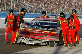 Clint Bowyer Michael Watrip Toyota NASCAR Cup Phoenix 2012