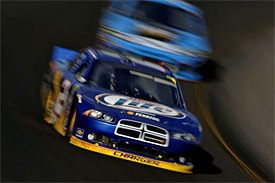 Keselowski cautious despite lead