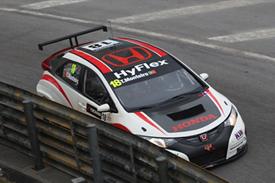 Tiago Monteiro, Honda, Macau WTCC 2012