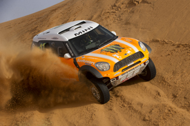 Leonid Novitskiy X-raid Mini Dakar 2012