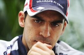Pastor Maldonado Williams 2012 US GP