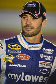 Jimmie Johnson NASCAR Sprint Cup Hendrick Chevrolet 2012
